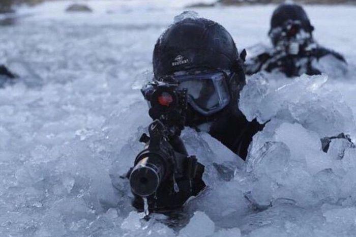 U.S Navy Seals training in Alaska USA Us Military U.S. Navy Navy Seal