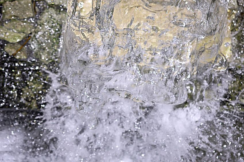 water on speed shots Backgrounds Close-up Cold Temperature Day Flowing Water Frozen Full Frame Ice Icicle Melting Motion Nature No People Outdoors Purity Refreshment Snow Snowing Splashing Studio Shot Water Winter