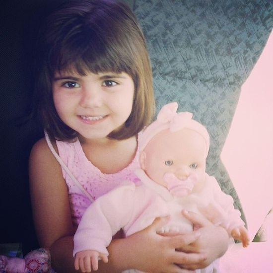 Saudades de brincar com essa pequena lindaaa!!! Sofia Sofi Cute ???