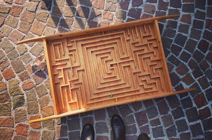 Labyrinth Old Games Games Old Times Playing Wood Game Enjoy The New Normal