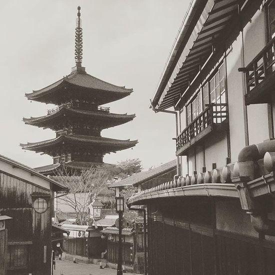 Old Buildings Kyoto Japan Old Street