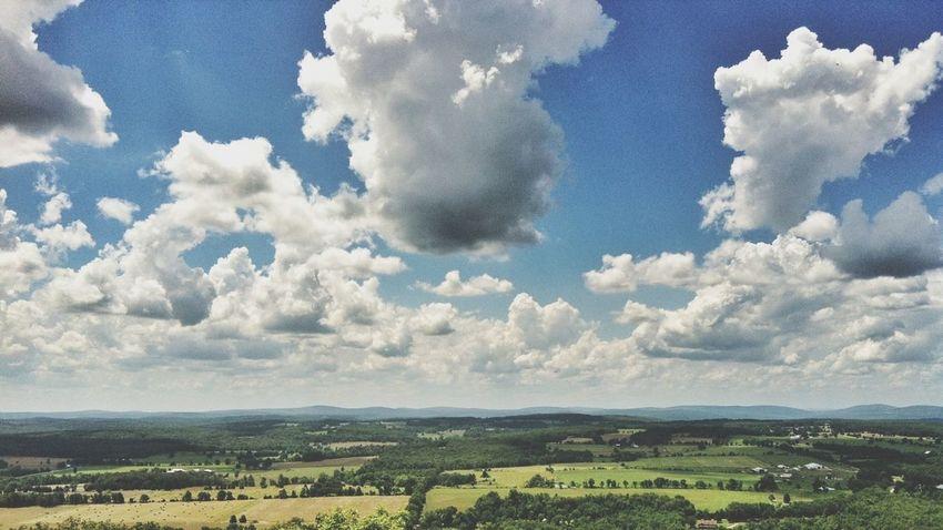 Cloudporn Rural Scenes High Noon