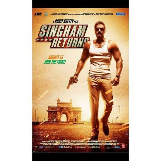 Done with this. ?? . Chingam Returns. Okay -okay Chingamreturns Ajaydevgan Kareenakapoor