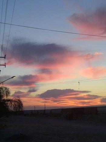Me gusta amanecer pernsando que me quieres:) Sky And Clouds Pink Sky Sky Cielo