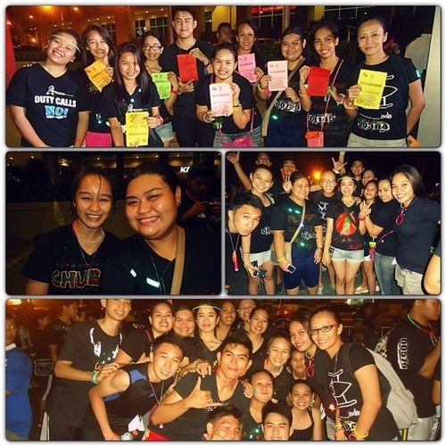 A night to remember with AWESOME PEOPLE LightUpTheNight CPUFunRun BSN4 -DFamily Instabond instahappiness