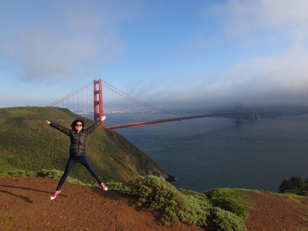 GoldenGateBridge USA Wanderlust Adventure Jumpingpic Manmadestructures Sanfrancisco