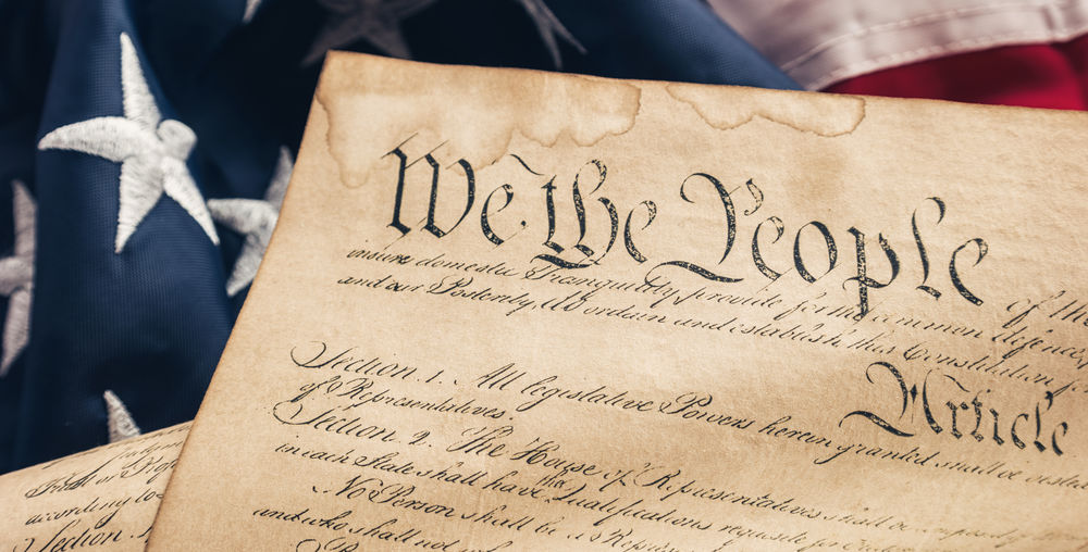 America Constitution Parchment American American Flag Democracy Liberty Patriotism We The People Weathered America Close-up Constitution Democracy Document Government History Independence Day Law Nation National Flag No People Paper Parchment Politics And Government Stars And Stripes Symbol Text