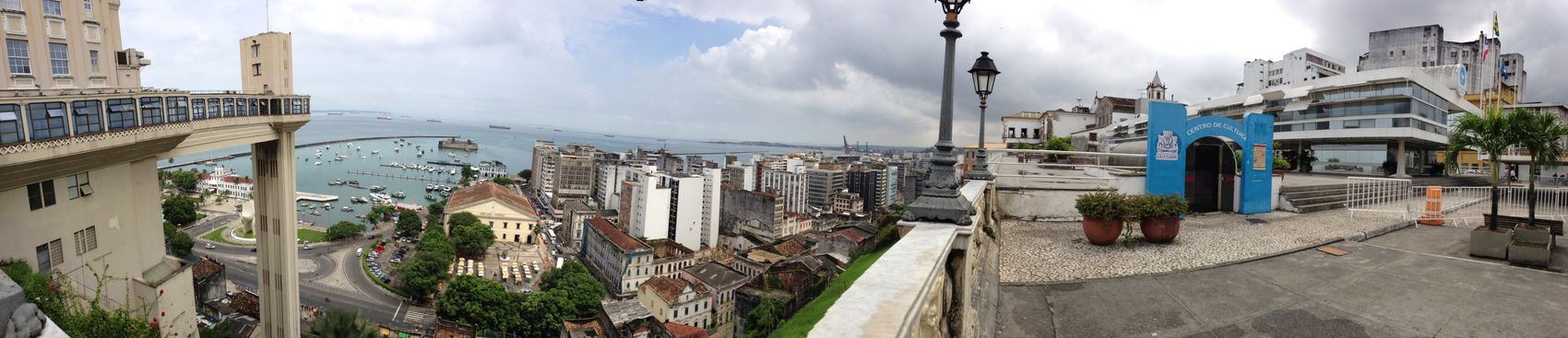 Salvador De Bahia Panoramashot Bahia/brazil