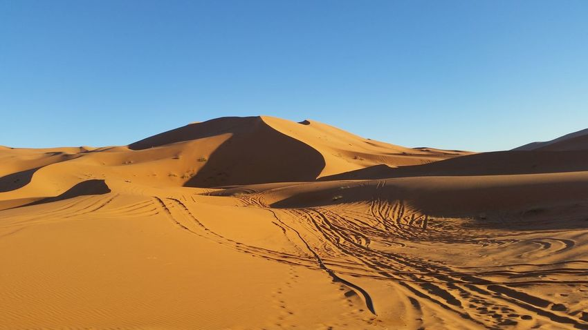 EyeEm Selects Sand Dune Clear Sky Desert Arid Climate Sand Adventure Heat - Temperature Environment Remote