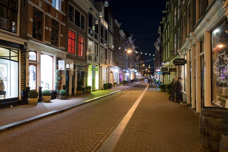 Street of Jordaan, Amsterdam at night. Amsterdam Dutch Cities Netherlands Prinsengracht Reflection UNESCO World Heritage Site Architecture Building Exterior Built Structure Canal Canals And Waterways City Dutch Herengracht Holland Illuminated Jordaan Night No People Outdoors Prinsenstraat Water