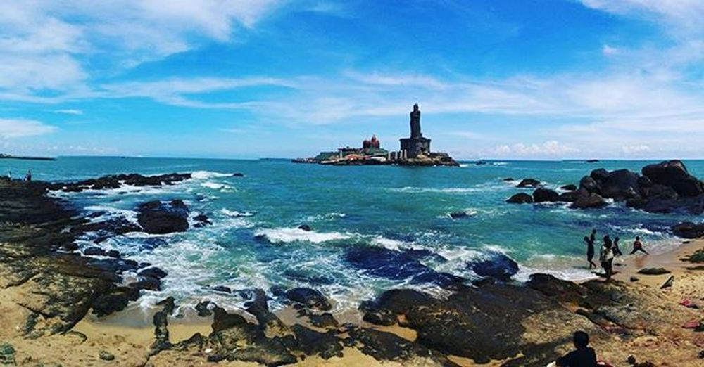 Kanyakumari Southerntip India VivekanandaRockMemorial Beach Picturesque Instapost Instamood Photography Nexus5