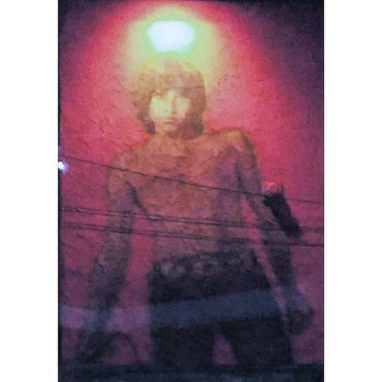 Jim Morrison mural close up. JimMorisson Thedoors Hippie Hippies LSD Acid Psychedelic Venicebeach Venice Losangeles Santamonica Thewestside Johnyindigo