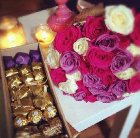Flower &choclet
