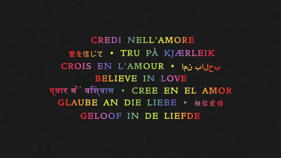 Believe In Love Coldplay Cree En El Amor 😚