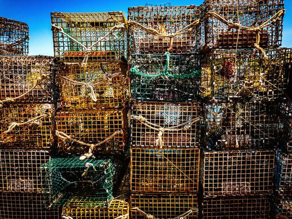 Fishing Industry Fishing Net Day Fishing Tackle No People Outdoors Full Frame Backgrounds Close-up