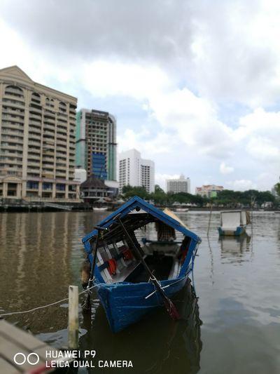 Sampan in Kuching,Malaysia