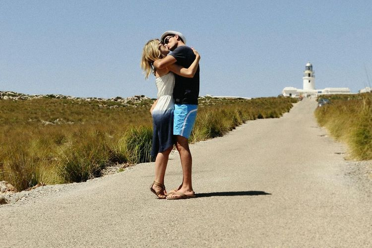 Menorca Love Kisses Kiss SPAIN Traveling That's Me Enjoying Life Lighthouse Far Nati