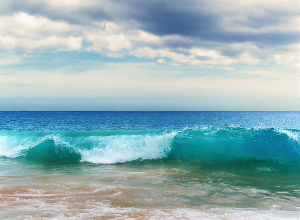 Big Beach Waves Beach Beauty In Nature Blue Cloud - Sky Motion Nature No People Outdoors Scenics Sea Sky Summer Water Wave