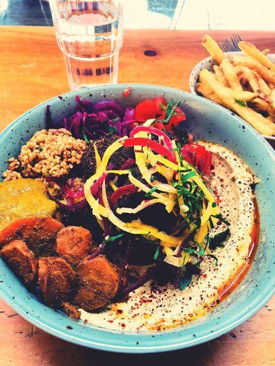 Falafel bowl Falafel Dreams Vegan Falafel Food And Drink Freshness Still Life Table Indoors  Healthy Eating
