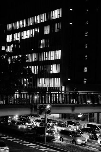 Cityscapes Taking Photos Light And Shadow Nightphotography Streetphotography Silhouette Blackandwhite Monochrome Black & White