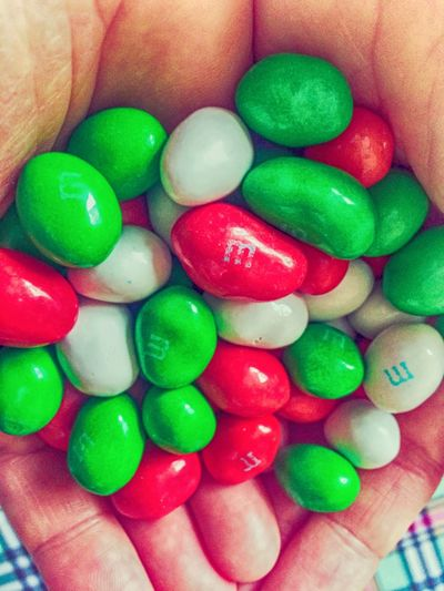 M&m M&m's M&ms Candy Food Hands Human Hand Green White Red Snack Multi Colored Ready-to-eat Chocolate Chocolate Candy Nut Jelly Bean Many Sweet Food Beans Visual Feast