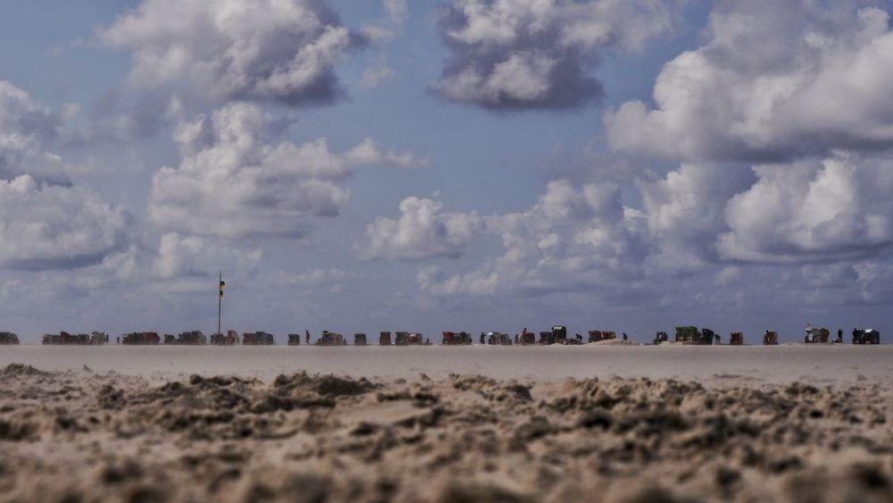Amrum Amrum Beach Beach Life EyeEmNewHere Beach Beauty In Nature Cloud - Sky Day Landscape Nature No People Nordsee Nordseeinsel Nordseeküste Northsea Northsea Coast Northsea Island Outdoors Sky