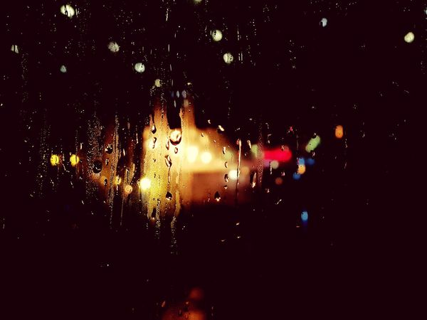#EyeEmNewHere #firstpicture #photography #black  #rainyday #raindrops #Wallpaper #lights Night Nightlife Backgrounds Indoors  First Eyeem Photo