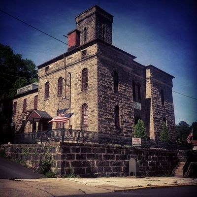 Mauch Chunk Old Jail 1871 Mauchchunk Mollymaguires Execution gallows 27cells closed1995 dayoftherope pinkertons thomasfisher coalandironpolice lehighrivervalley lehighcoalandnavigation asapacker historicallandmark cell17 haunted dungeons museum Pennsylvania