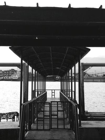 Bridgestructure Port Outdoors Photograpghy