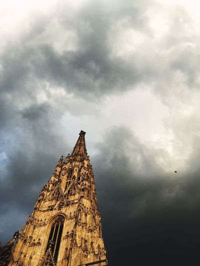 Cathedral Old Buildings Historical Building Architecture Clouds Cloudy Day Gray Day. How's The Weather Today? Evening Sunny The Architect - 2016 EyeEm Awards