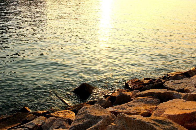 2015 Life In Hong Kong· Seaside Sunset Enjoying Life HongKong Sea_collection Tsuen Wan Nature Photography Sea View