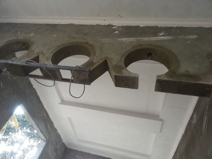 Half round arch trim Construction Work Decorative Structure
