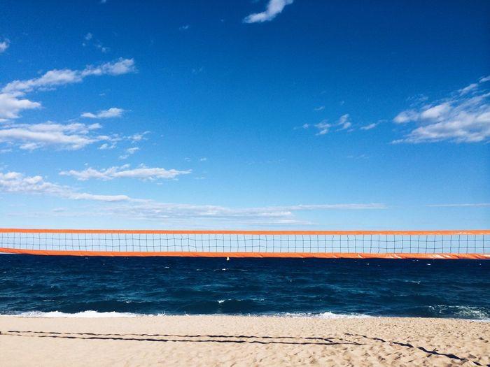 On The horizon... Smart Simplicity Sea Minimalism Horizon Color Palette
