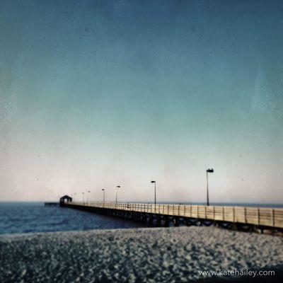 Pier, Biloxi, MS TinTypeApp Hipstamatic Travel Kateontheroad