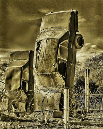 Museum War Car Martyrs Memorial Shallamche Khorramshahr Iran