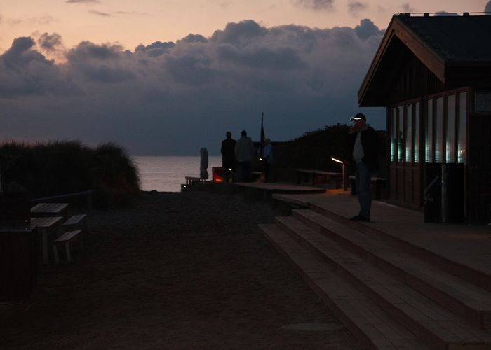 Amazing Place Architecture Beach Calm Clouds Enjoying Life EyeEm Best Shots Getting Inspired My Favorite Place Night Northsea Rantum Restaurant Sansibar Sylt Scenics Seascape Silhouette Sky Storm Cloud Sunset Sylt Tranquil Scene Vacations Water