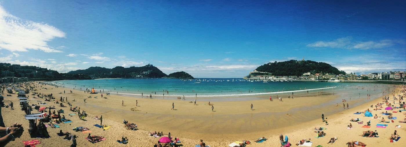 I miss Spain 🙍🏼 SPAIN Holiday Summer Beach Traveling Sun Last Summer Hello World Memories Panorama