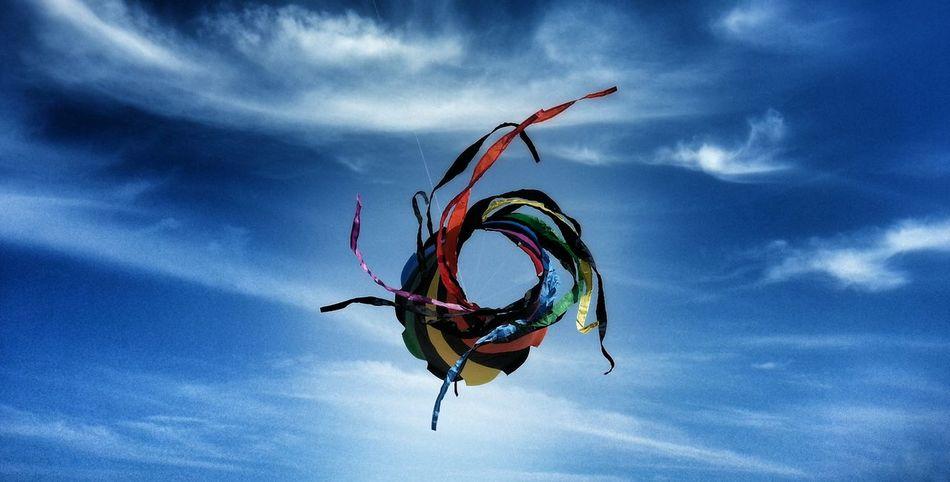 Kites In Motion