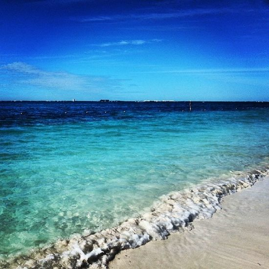 Beach Isla Mujeres Mexico perfekt ferie kjæresten stromo kos happy
