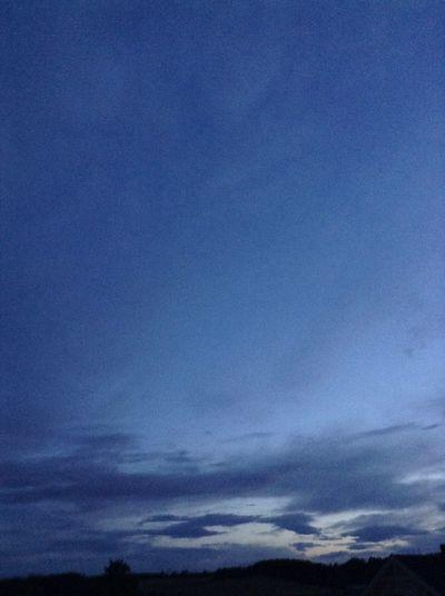 IT is skylight outside