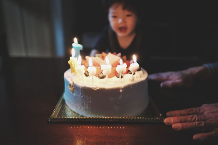 Happy birthday EyeEm Best Shots EyeEm Nature Lover EyeEmNewHere EyeEm Selects EyeEm Gallery Eye4photography  EyeEm Japan Japanese Food Japanese  Baby Beauty In Nature Enjoying Life Day Tokyo Childhood Christmastime Christmas Time Human Hand Birthday Cake Happiness Birthday Life Events Flame Domestic Life Birthday Candles Celebration Smiling 2018 In One Photograph Moments Of Happiness My Best Photo Moms & Dads