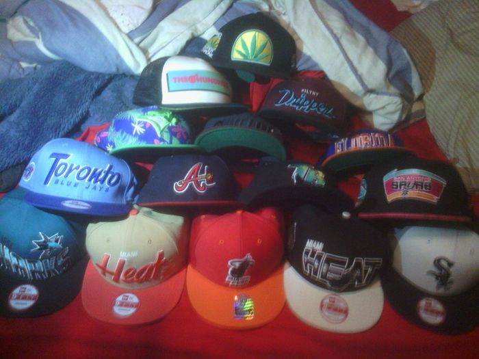 All These Hats Swag Af(;