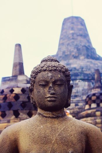 Statue Travel Destinations History Temples Architecture Architecture Templephotography Borobudur Temple Temples Of Indonesia Temples Borobudur Temple, Indonesia Borobudur