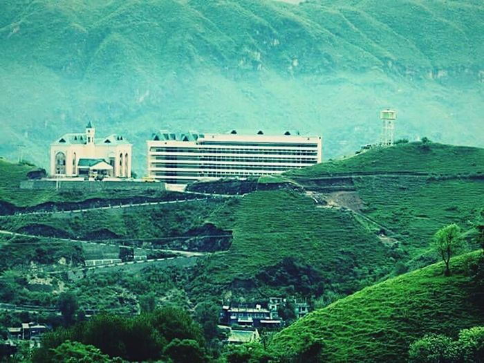 """""""Udyama sarvarth sadhkam"""" (Everything is achievable with hard work) - Motto of this institution. Himachal Engineering Technical"""