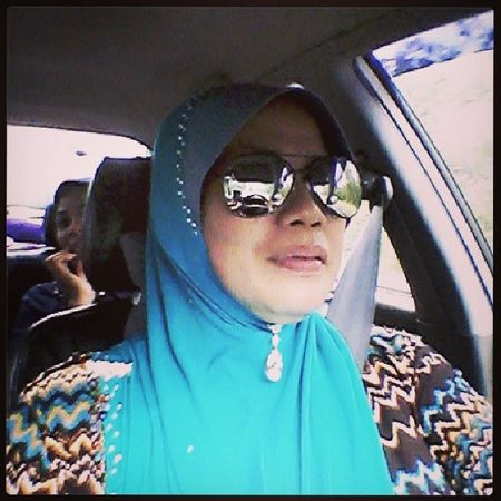 Hehehe ,, my mom . Otw Segamat