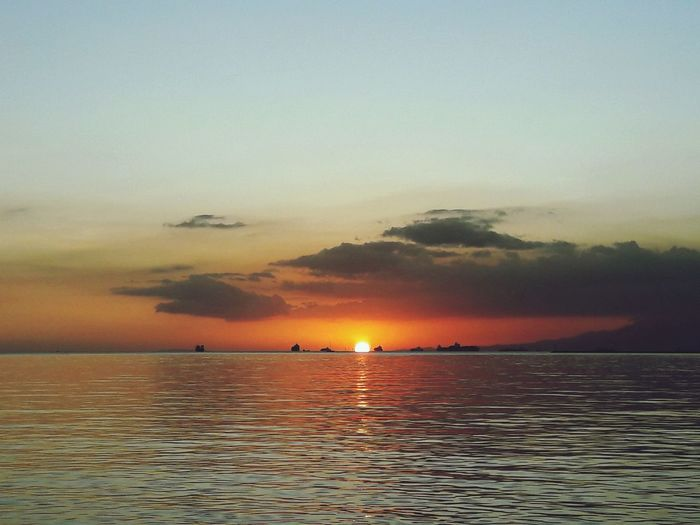 Manila Sunset Manila, Philippines Water Nautical Vessel Sea Sunset Beach Multi Colored Horizon Sailing Sun Summer Seascape