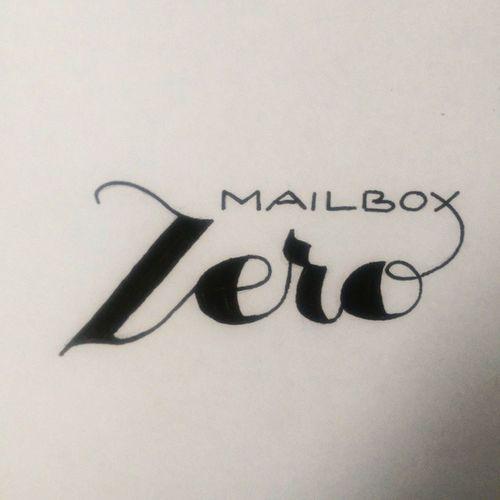 Handlettering Lettering Mailboxzero Email