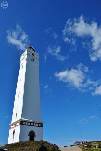 Dänemark Denmark Nofilter#noedit Dänemark Clear Sky Blue Lighthouse Sky Architecture