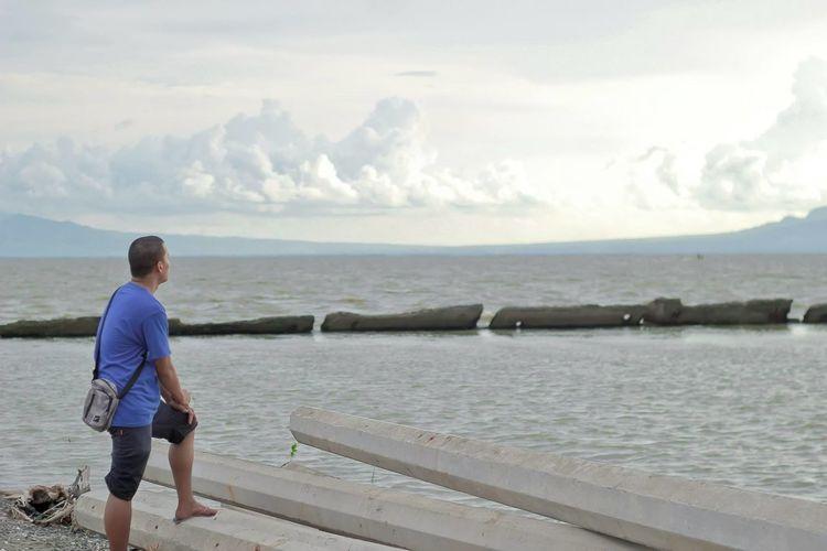 Consuelo Macabebe Pampanga Beauty In Nature Cloudy Outdoors Pampanga Pampanga Philippines 🙌💕 Pampangabound Sea Water
