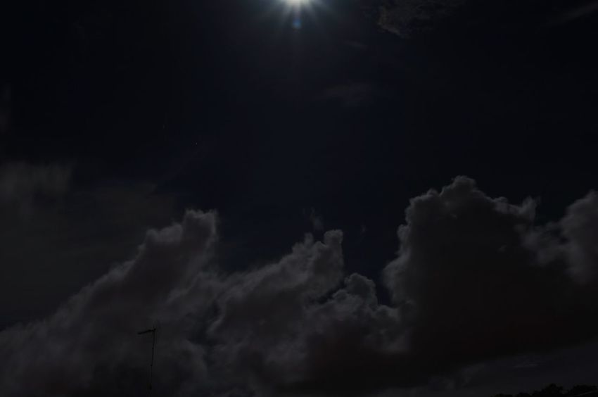 EyeEm Selects Night Dark Sky No People Cloud - Sky Nature Outdoors Illuminated Malaysia Taking Photos Dark Light And Shadow Miri, Malaysia Clouds And Sky Moonlight Moon And Clouds